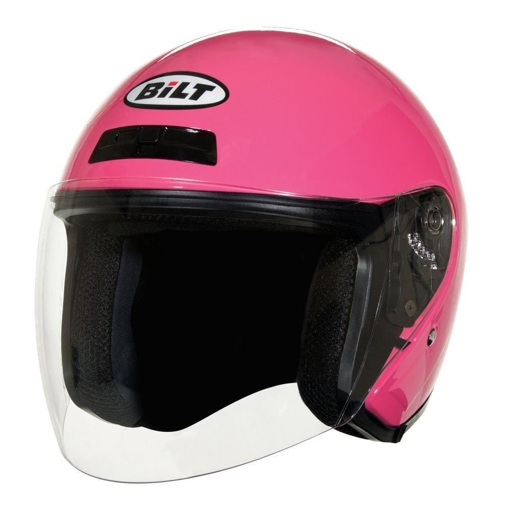 BILT women pink bike helmet