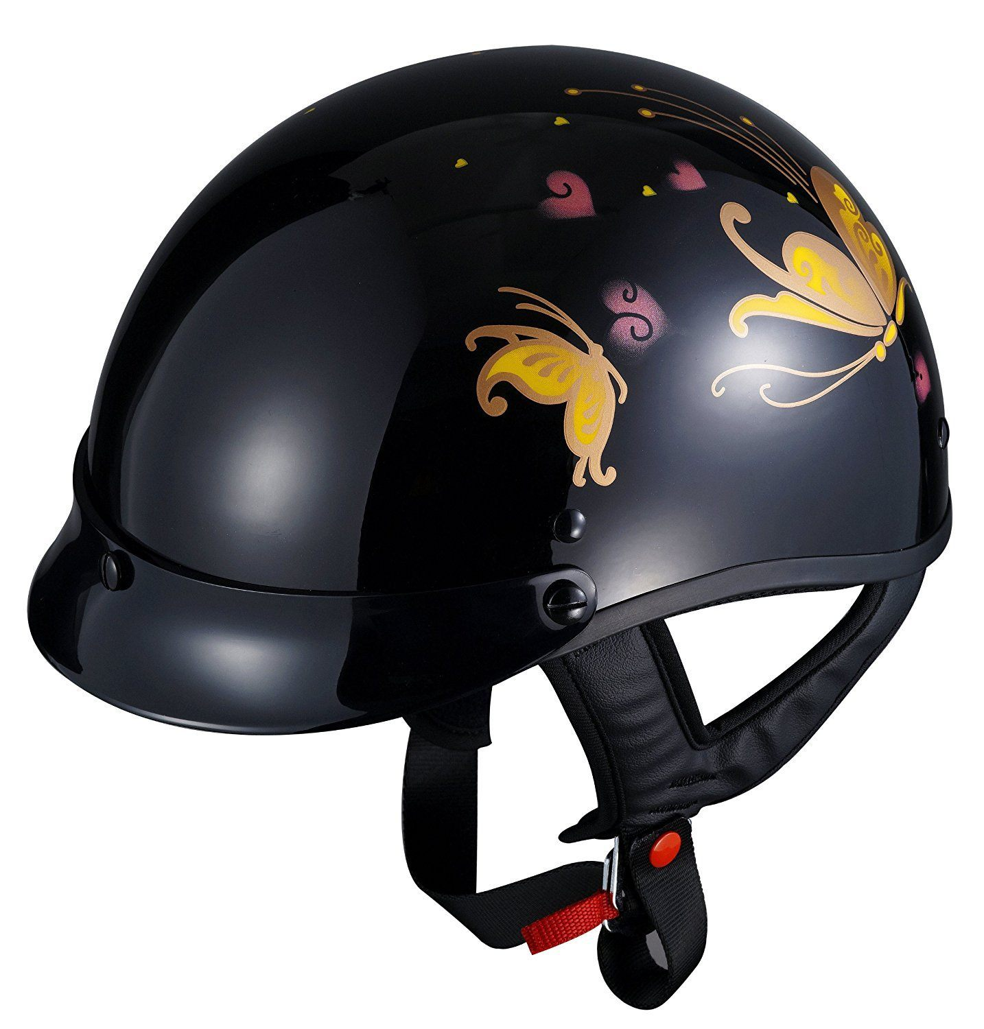 glx black bike helmet