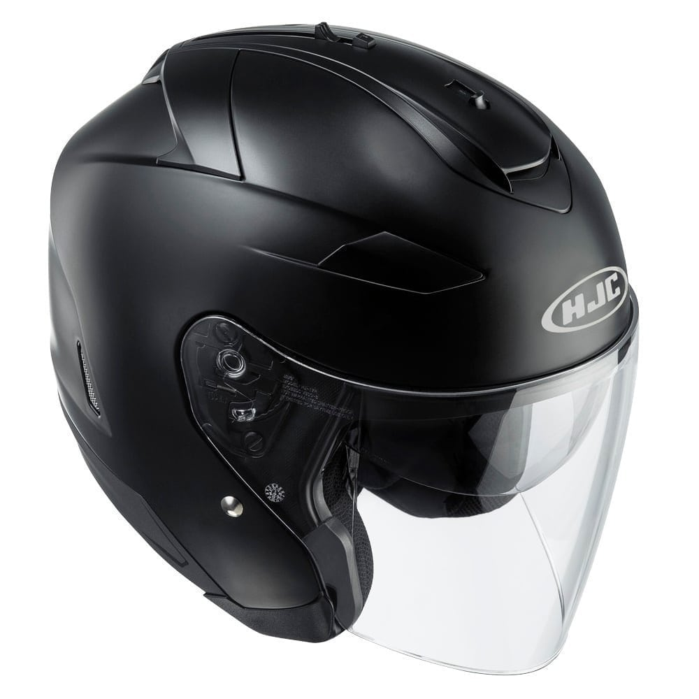 hjc black bike helmet