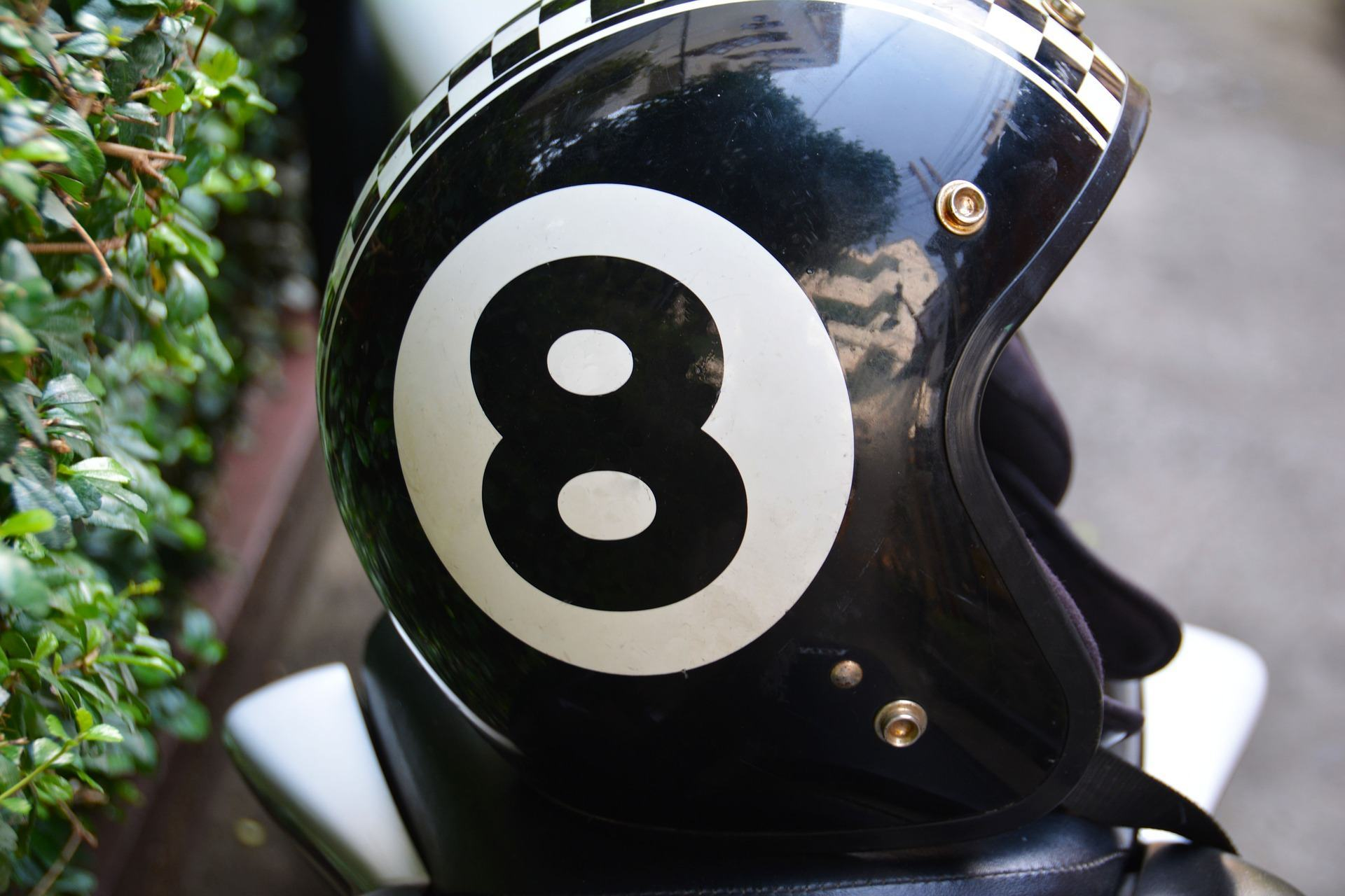 eight helmet