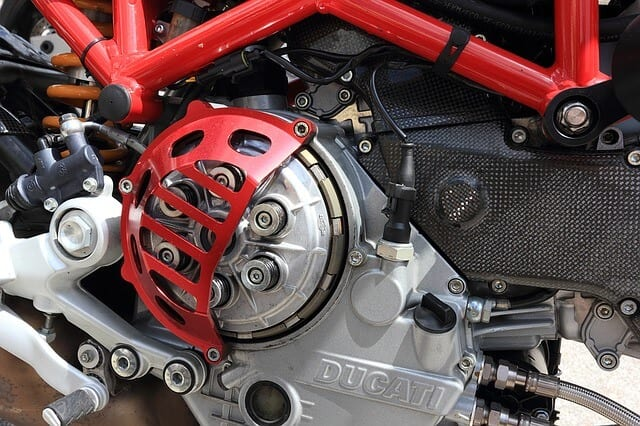 italian motorcycle engine